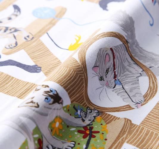 Asciugapiatti - tea towel cotone gatti giocosi moggie mayhem
