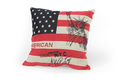 Cuscino bandiera americana