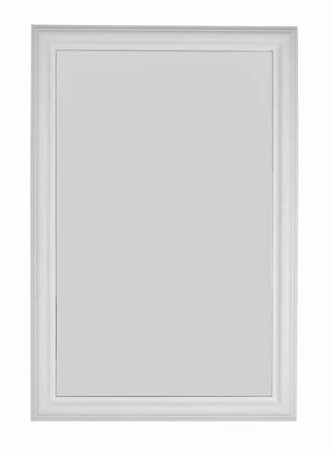 Specchio bianco liscio 60x90