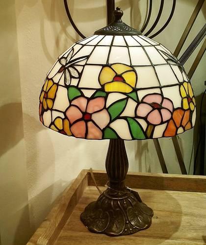Lampada tiffany libellula h 43