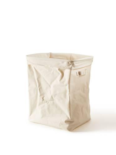 Portabiancheria sacco cotone rettangolare con fodera