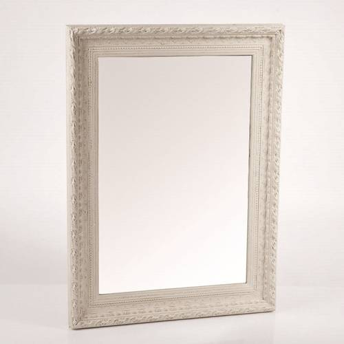 Specchio crema anticato