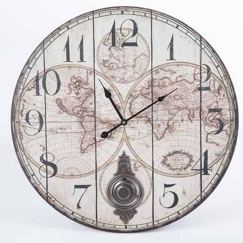 Orologio globi c/pendolo cm 58