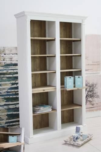 Libreria bianca 12 spazi naturali