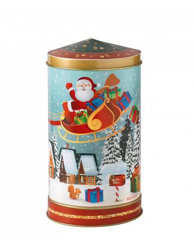 Barattolo metallo Santa Claus con carillon
