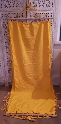 Amaca cotone giallo 90x190