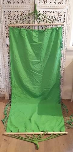 Amaca cotone verde 90x190