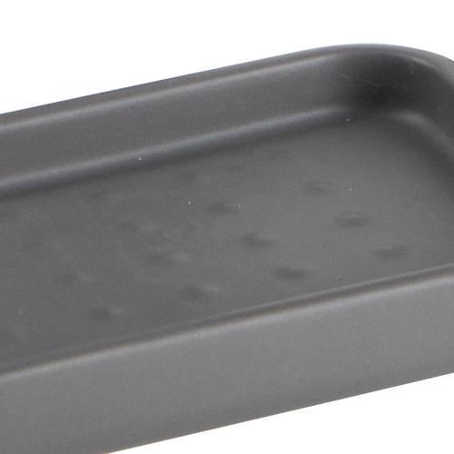 Accessori bagno modern 3pz ceramica grigio antracite
