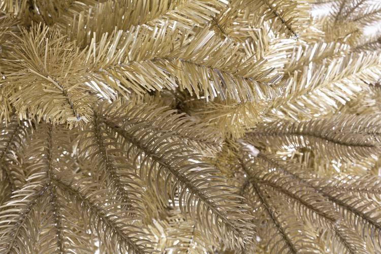 Albero abete natale tissi dorato 210h