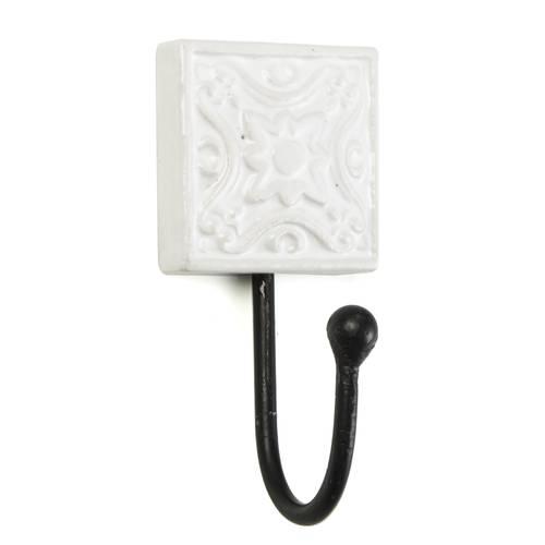 Appendiabiti gancio mattonella ceramica a parete