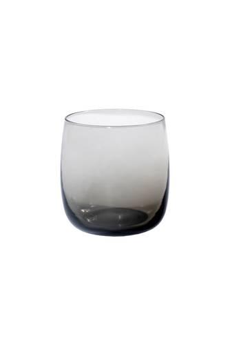 Bicchiere acqua vetro filicudi grigio 6pz