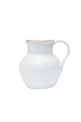 Brocca bianca porcellana collezione mediterraneo