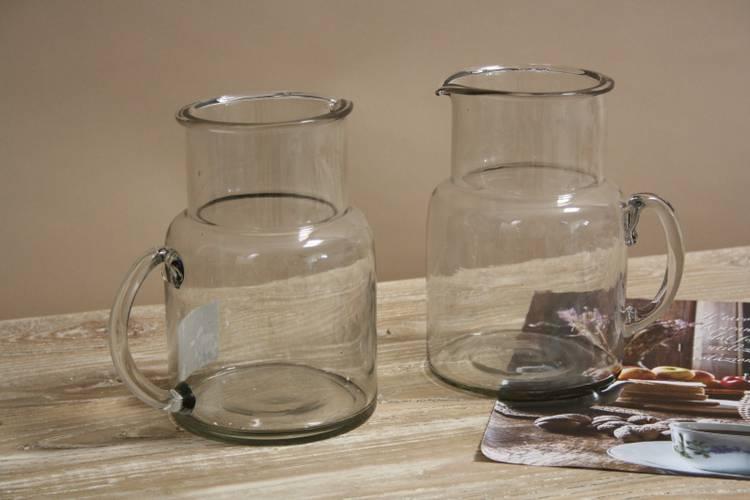 Brocca vetro cilindro 18h