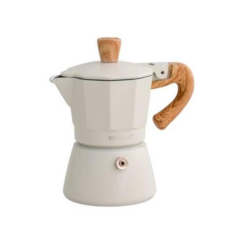 Caffettiera natural express 1 tazza avorio Brandani