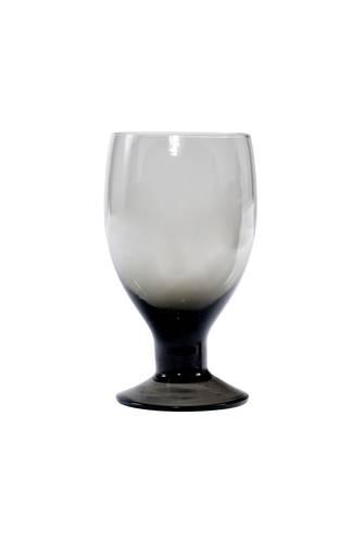 Calice vetro filicudi grigio 6pz