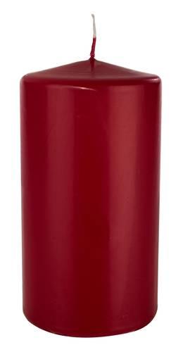 Candela cero rosso scuro 8x15