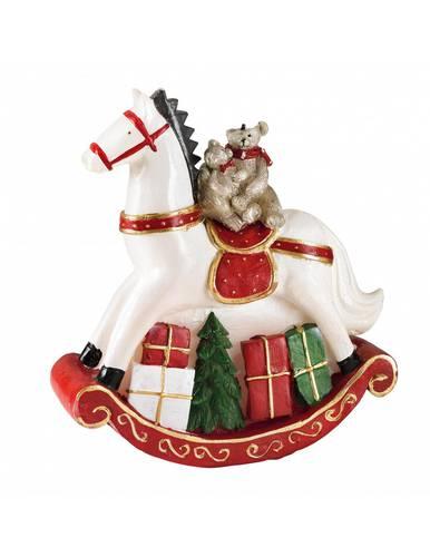 Candela natalizia cavallo a dondolo 14,5h