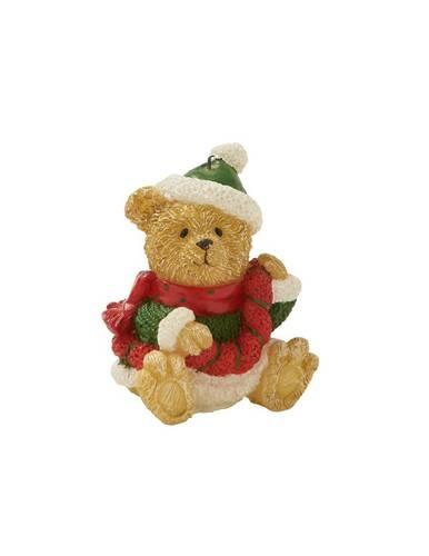 Candela natalizia orsetto 12h
