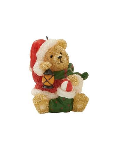 Candela natalizia orsetto con lanterna 8,5h