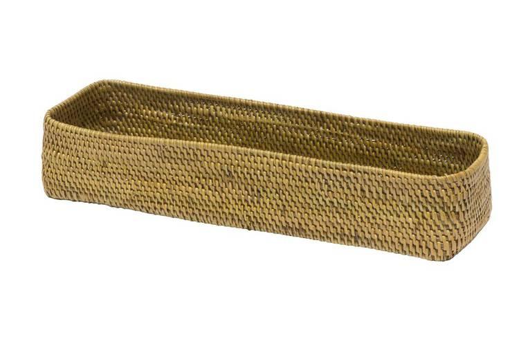 Cestino rettangolare rattan lombok