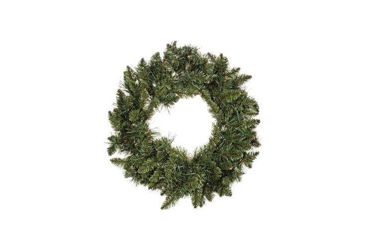 Corona rami pino verde cm60