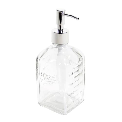 Dispenser vetro trasparente sapone liquido Maison