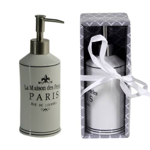 Dispenser sapone liquido ceramica Paris