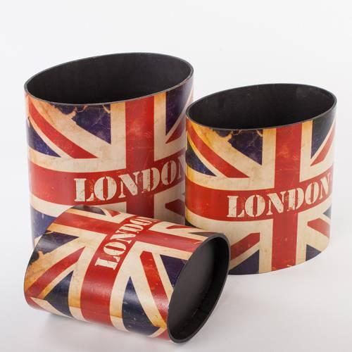 Portariviste legno London bandiera inglese