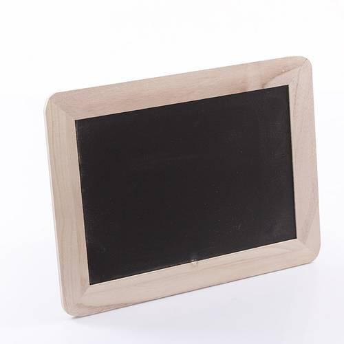 Lavagnetta cornice legno grezzo 30x40