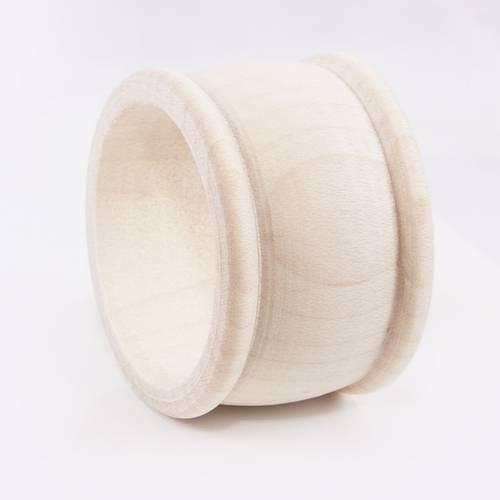 Legatovaglioli anello legno grezzo lavorato