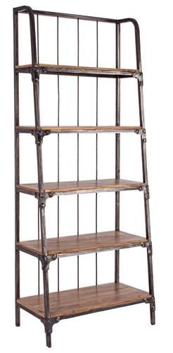 Libreria industry legno e ferro