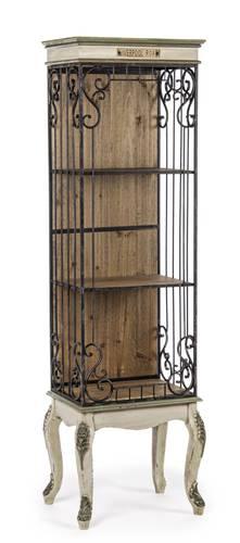 Libreria legno e metallo Liverpool 3 piani