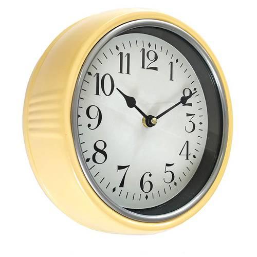 Orologio metallo giallo cm 25