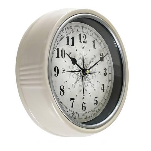 Orologio metallo tortora rosa dei venti cm 25
