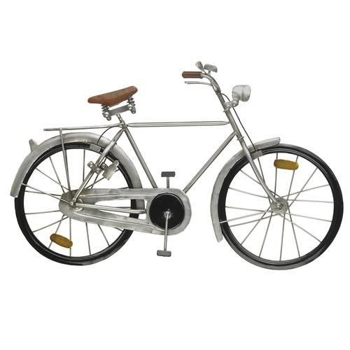 Pannello bicicletta metallo grigio modello uomo