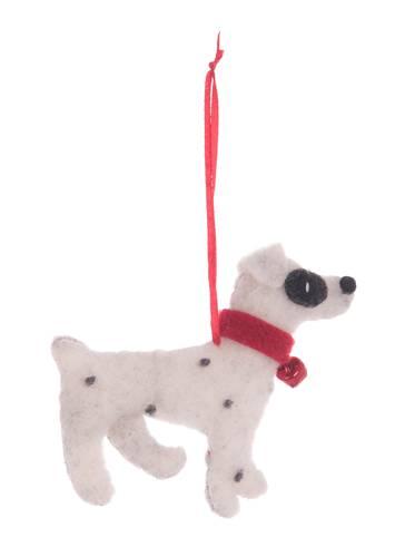 Pendaglio cane dalmata in feltro