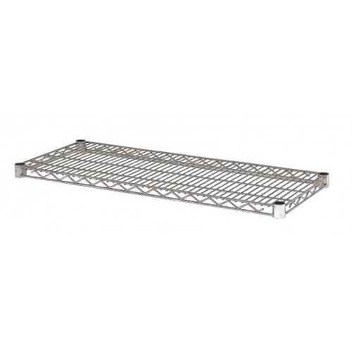Piano scaffalatura acciaio 35x90