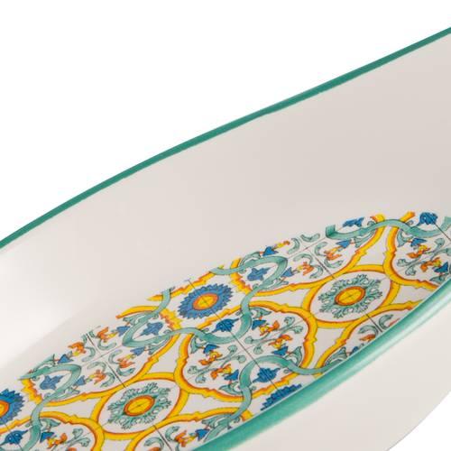 Poggia cucchiaio ceramica colorata Ortigia