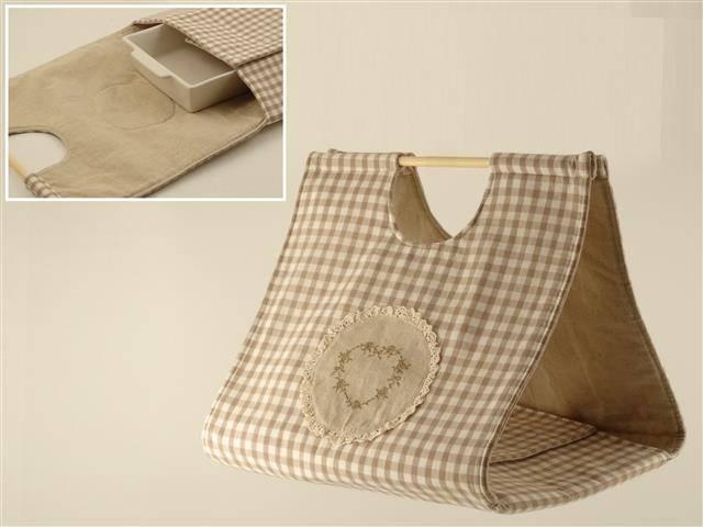 Porta torta tessuto quadrettini
