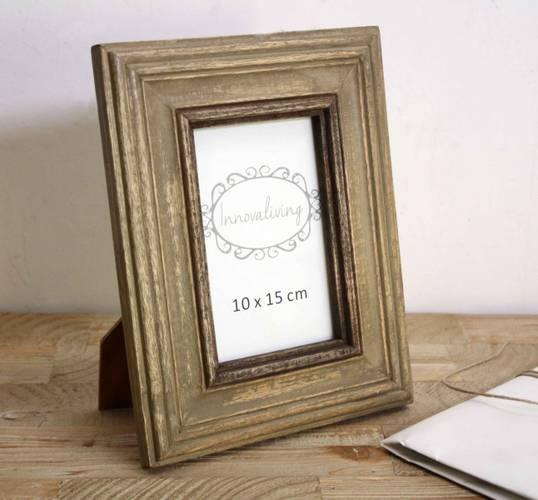Portafoto coloniale cornice legno 10x15