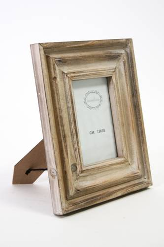 Portafoto legno abete spazzolato 13x18
