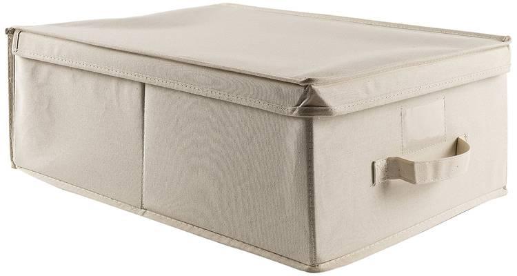 Scatola armadio cotone bianco 36x48x19