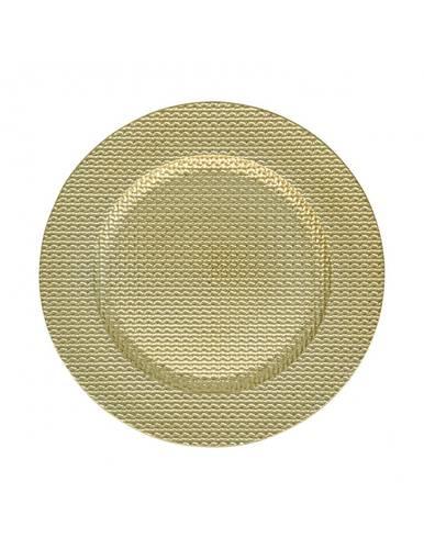 Sottopiatto intreccio oro cm33