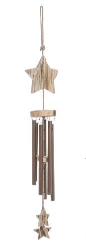 Scacciapensieri legno con stella