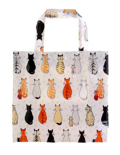 Shopping bag Gatti in attesa pvc small