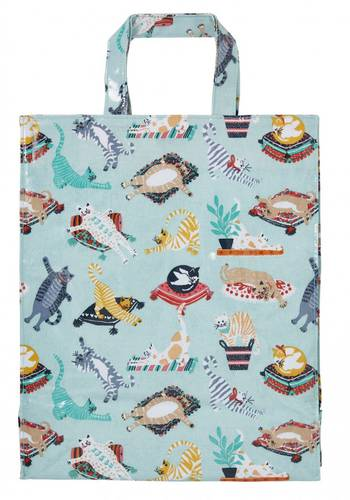 Shopping bag Kitty Cats pvc large Ulster Weavers
