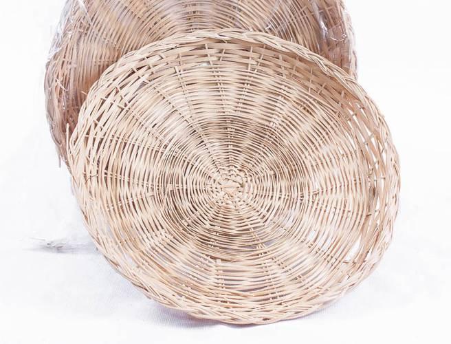Sottopiatto bamboo naturale cm30