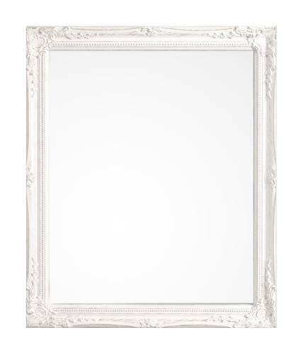 Specchio barocco legno bianco  36x46