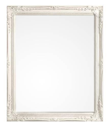 Specchio barocco legno bianco  46x56
