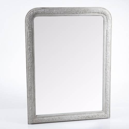 Specchio grigio chiaro decor 90x120